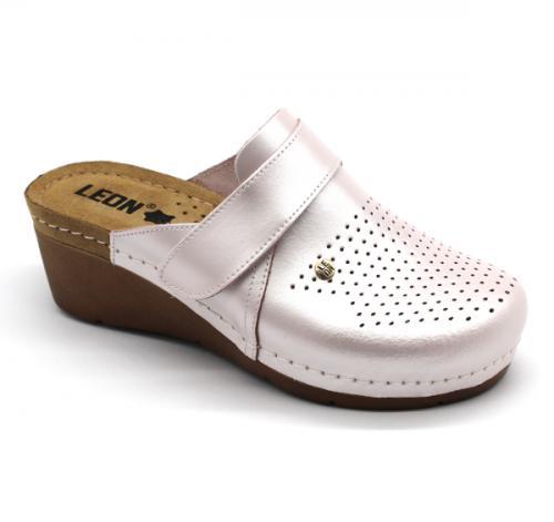 1001 LEON Comfort női bőr klumpa