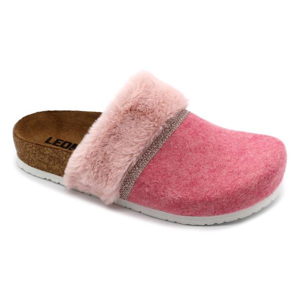 4261 LEON Comfort női szövet klumpa