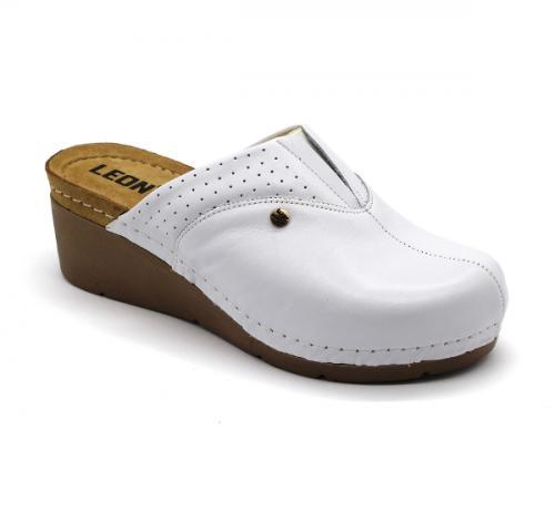 1002 LEON Comfort női bőr klumpa