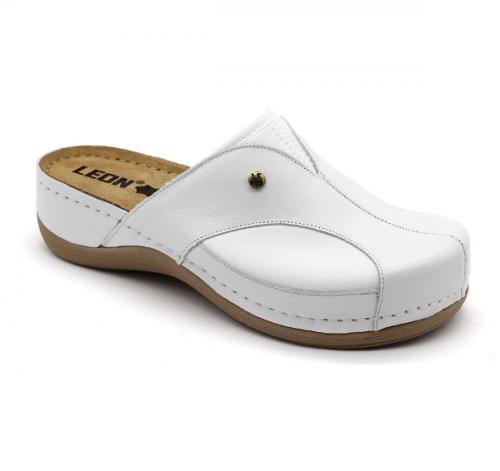 912 LEON Comfort női bőr klumpa