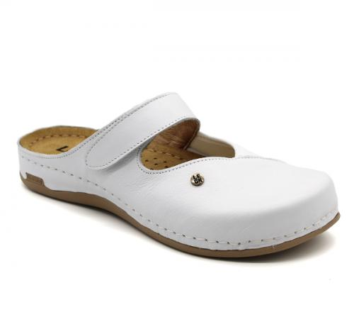 953 LEON Comfort női bőr klumpa